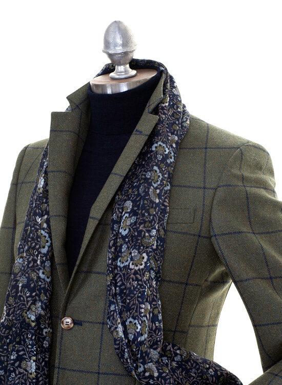 Box Check Tweed