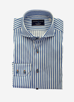 Blue Bengal Stripe Shirt
