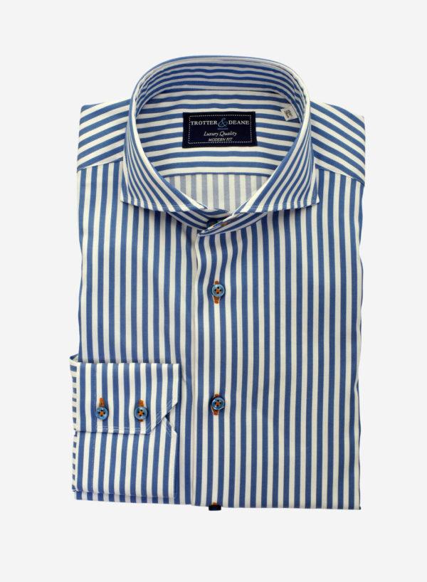 Blue Bengal Stripe Shirt